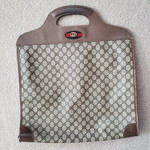 Unisex Vintage Gucci Tote Travel Bag Handbag